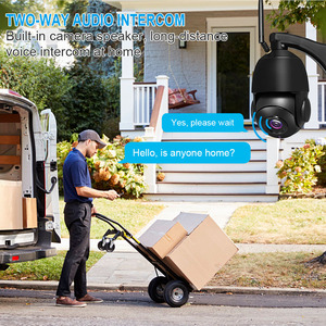 Image 2 - Cámara de seguridad inalámbrica con Wifi para exteriores, dispositivo de vigilancia ONVIF con Zoom óptico de 1080 MP, 3MP, HD 30X, IP para el hogar, visión nocturna IR de 80M