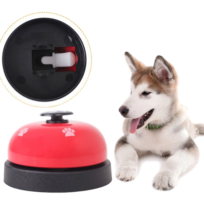 Pet Training Supplies Dog Training Bells Cat Dog Toys Colorful Stainless Dining Bell Puppy  Training Equipment Device-2
