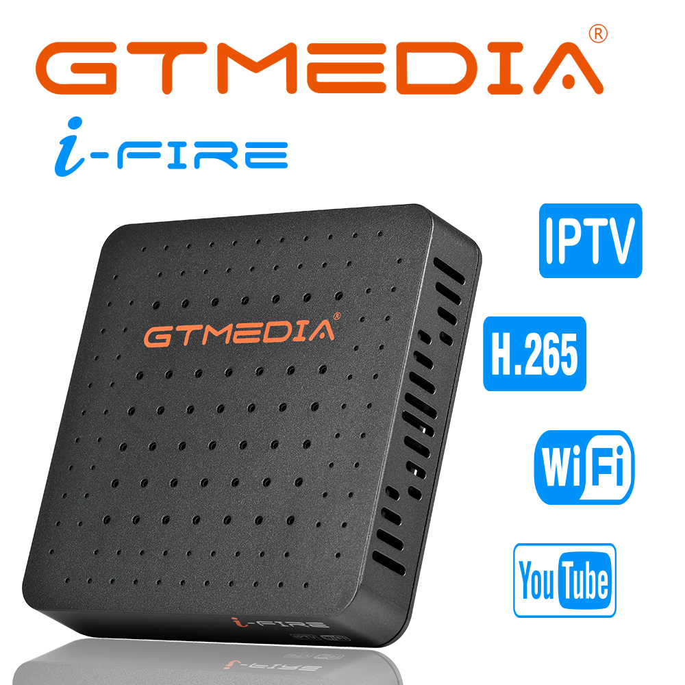 PLAZA GTMEDIA Ifire IPTV Box TV Decoder FULL HD 1080P H.265 Built-in WIFI Module Support Iptv Spain GTplayer Digital Set Top Box