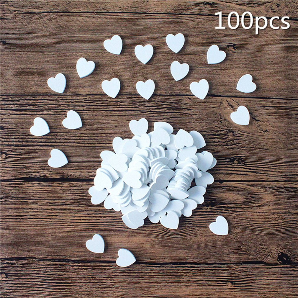 White Heart Small Wood 100 pack daily supplies household products health and beauty personal care products