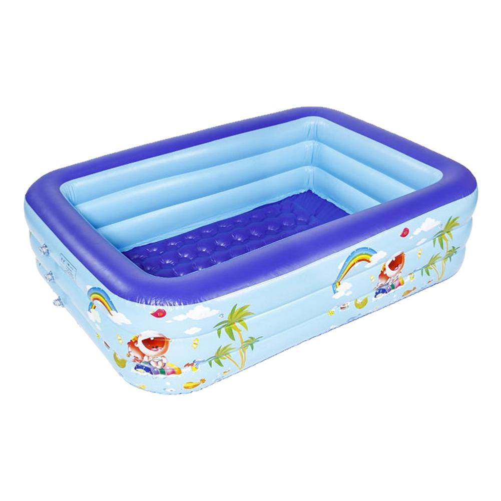 Inflatable Swimming Pool Thick Safe Inflatable Pool Piscina Summer Water Party For Baby Kids Adult Piscinas Grandes Para Familia