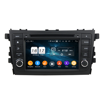 7 8 Core Android 10.0 Car Radio For SUZUKI Alto Celerio Cultus 2015-2016 Multimedia 4+32GB 4+64GB DVD Audio Stereo DSP image