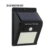 1 шт уличная светодиодсветильник лампа на солнечной батарее
