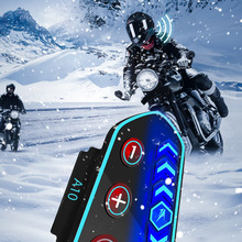 Motorcycle helmet bluetooth headset built-in modified separate navigation music wireless waterproof takeaway rider headset