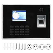 Attendance-Machine Checkingin-Recorder Employee Fingerprint Color-Screen 100270V Password