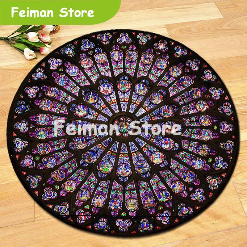 Indian Mandala Carpet Round Square Floor Mat Hippie Home Decorative Bohemia Rug Beach Mat Yoga Mat High Quality