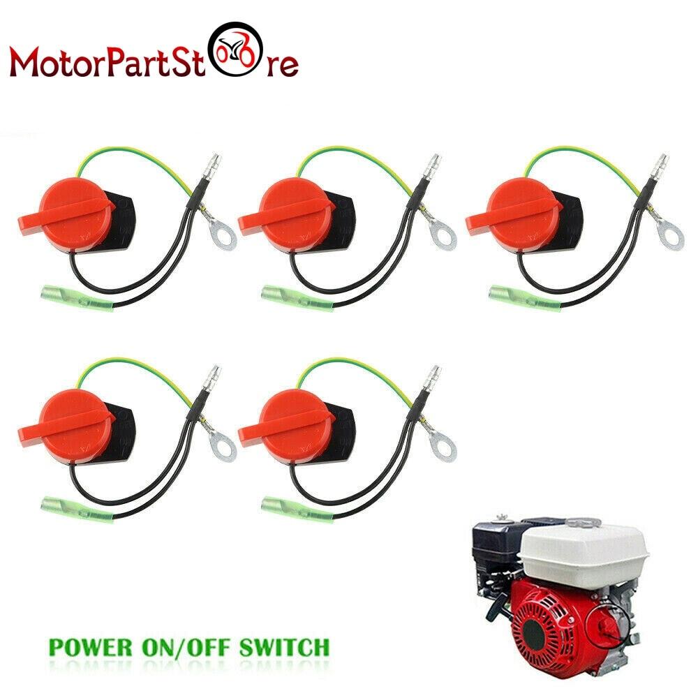 Engine Power Stop ON Off Kill Switch Control For Honda GX120 GX160 GX200 GX240 GX270 GX340 GX390 3HP-13HP Generator