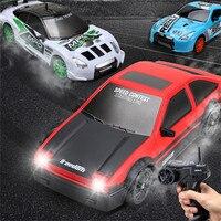 Coche teledirigido 4WD, vehículo todoterreno de radiocontrol 1:24 2,4 Ghz, versión RTR, juguetes para niños