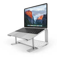 SeenDa-Soporte de aluminio para portátil, base ergonómica de refrigeración de metal para Mac book, elevador Air Pro para portátil de 10''-17''