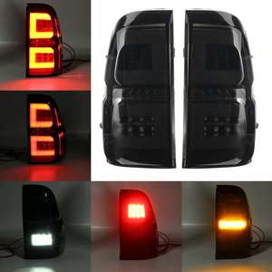Image 3 - Pair Led Taillights For Toyota Hilux Revo SR5 M70 2015 2018 Pickup Car Brake Lamp Modified High Brightness Styling Fog Lamp DRL
