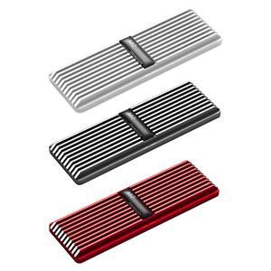 M2 Aluminum nvme Heatsink Heat Dissipation Radiator M.2 Cooling Heat Sink Heat Thermal Pads Cooler Vest For NVME NGFF M.2 2280