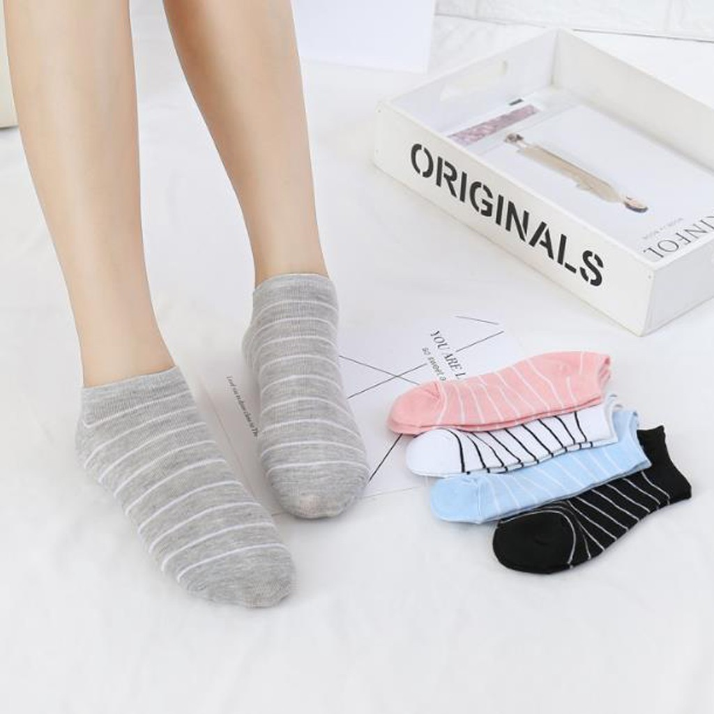Women Boat Socks comfortable girl women's socks ankle low female invisible color girl boy hosiery ladies boat sock slipper