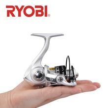 Ryobi carretel de pesca 500 800 1000 carretel de pesca fiação 3 + 1bb relação engrenagem 5.2:1 max arraste 3kg carretel de água salgada rodas de pesca bobinas