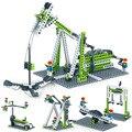 3 в 1/4 и 1 научная и техническая серия, Обучающие строительные блоки, игрушки для детей 6 лет, «сделай сам», подарок на день рождения, маленькие ...