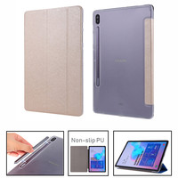 Case For Samusng Galaxy Tab S6 10.5 inch 2018 SM T860 SM T865 T865 Cover Flip Tablet Cover Leather Smart Magnetic Stand Shell Tablets & e-Books Case     -