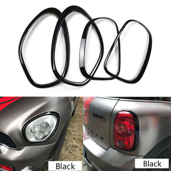 Headlight Taillight Border For Mini Cooper countryman R60 Decoration Stickers  Rims Surrounds Car Styling kit car accessories