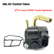 Car Replacement Idle Air Control Valve IACV Auto Idle Motor Control Valve 22270-20050 For Lexus ES300 Toyota Highlander