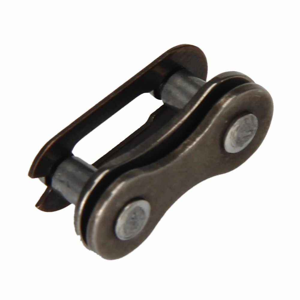 Satu Set Rantai Sepeda Master Link Hitam Articulated Rantai Konektor Pas Peta Bersepeda Alat Bersepeda Aksesoris Kecepatan Cepat