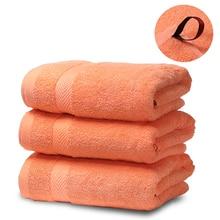 SEMAXE Luxury Hotel & Spa Quality Bath Towel Set for Bathroom-Beach .Soft,Plush and Highly Absorbent Towel (Set of 3,Orange)