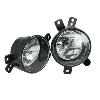 1Pair Fog Light Assembly Car Front Fog Lights Lamps for BMW X1 E84 2012 2013 2014 2015 with Bulb 63172993525 63172993526 Left/Ri