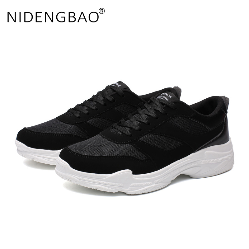 Men Sneakers Mesh Breathable Running Shoes Lace up Trainers Sneakers Athletic Zapatos Outdoor Sport Shoes Plus Size 39 47