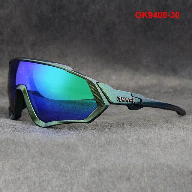 Ciclismo óculos de sol das mulheres dos homens da bicicleta de estrada equitação correndo óculos oculos ciclismo mtb fietsbril gafas 1 lente 3