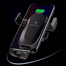 10W Caricabatteria Per Auto Senza Fili Del Basamento Holder Air Vent Clip di Montaggio Per Samsung Galaxy Note 10 Più Veloce di Ricarica Del Telefono auto Del Supporto Del Basamento