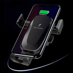 Image 1 - 10W Wireless Car Charger Stand Houder Air Vent Clip Mount Voor Samsung Galaxy Note 10 Plus Snelle Opladen Telefoon car Holder Stand
