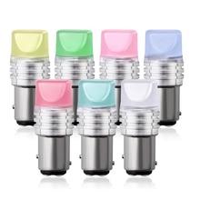 цена на 2PCs 1156 BA15S 3D 9 SMD 2835 LED 1157 BAY15D P21/5W White Red Yellow Turn Signal Light Backup Reverse Lamp Brake Lights 12V
