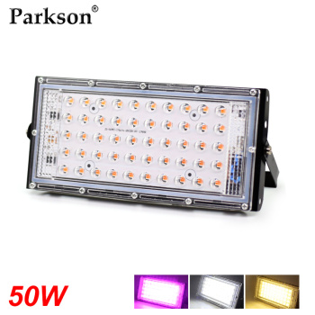 50W LED Grow Light Full Spectrum AC 220V Plant Floodlight Greenhouse Plant Hydroponic Plant Spotlight LED Plant Growth Lamp