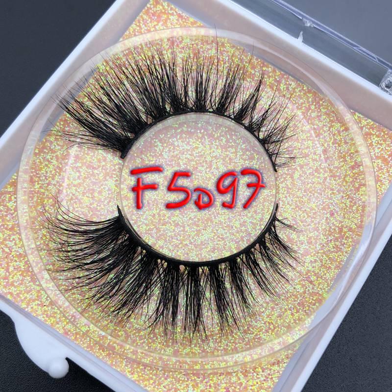 Mikiwi Brand 5d Square Case Glitter Case Box Mikiwi 25mm Long 5D Mink Lashes Long Lasting Eyelashes Big Dramatic Volume Lashes