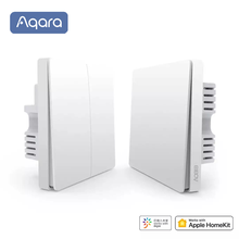 Xiaomi Aqara Wall Switch Light Switch ZigBee Version Single Fire/ Zero Fire /Wireless Switch APP Control Remote Smart Home Kit(China)