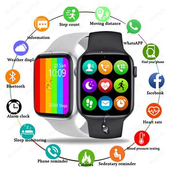 2021 inteligentnych zegarków Apple IWO W26 mężczyźni kobiety Smartwatch Bluetooth otrzymać telefon zwrotny od ekg Monitor tętna sport Fitness bransoletka dla Apple Z systemem Android tanie i dobre opinie UOJSJK CN (pochodzenie) Dla systemu iOS Na nadgarstek Zgodna ze wszystkimi 128 MB Krokomierz Rejestrator aktywności fizycznej