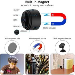 Image 2 - A9 1080P Wifi Mini Camera, Home Security P2P Camera WiFi, Night Vision Wireless Surveillance Camera, Remote Monitor Phone App