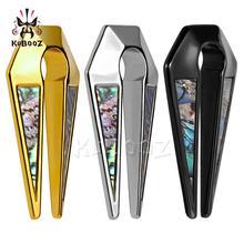 Kubooz Piercing Hot Selling Gold Shell Oor Clip Rvs Oor Piercing Meters Expander Lichaam Sieraden Paar Selling