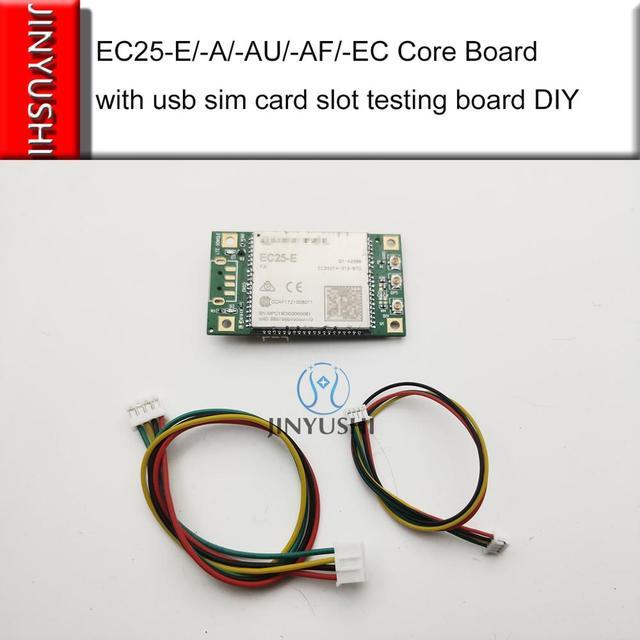 Quectel EC25 E/EC25 AU/EC25 EC/EC25 AF/EC25 A EC25 Core Board with usb sim card slot testing board DIY test kit evb board