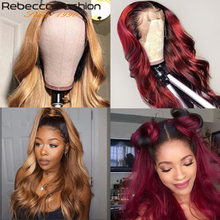 Rebecca 30 inch Lace Front Human Hair Wig