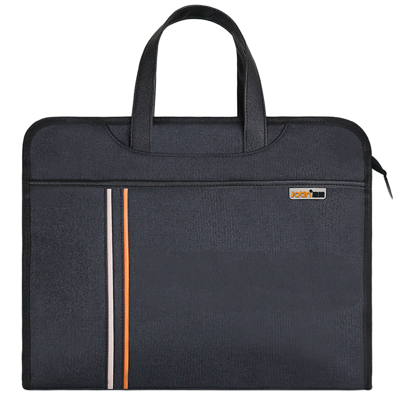 File Folder Laptop Case Briefcase  Document Bag Business Paper Bag Canvas Thick Waterproof Portable A4 Handbag Escolar
