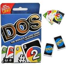 UNO – jeu de cartes Dos pour la famille, amusant, n ° 2