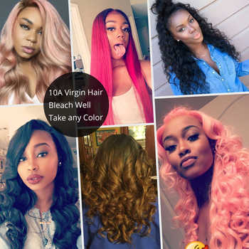 Brazilian 613 Straight Virgin Hair 3 Bundles Extension Honey Blonde 100% Human Hair Weaving New Star Thick Hair Products