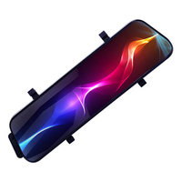 10 Inch IPS Touch Screen Car DVR Rear View Mirror Dash Cam Full HD Car Camera 1080P Back Camera Dual Lens Video Recorder BY031