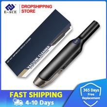 Dropshipping Auto Staubsauger Schwarz Mit 5000Pa/4000Pa Für Auto Tragbare Wireless Handheld Vakuum Und Home Reinigen