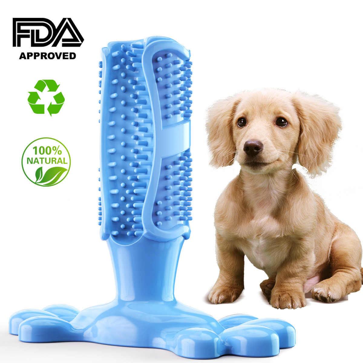 Vendita calda Cane Spazzolino Da Denti Spazzolatura Stick Puppy Pulizia Dei Denti Masticare Denti