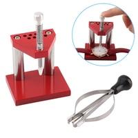 Uhr Reparatur Werkzeuge Hand Remover Plunger Puller Presse Fitting Kit Uhrmacher TT beste|Handwerkzeug-Sets|   -