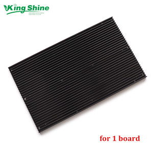 Image 1 - pre drilled QB288 quantum led lamp boards heat sink for 1 3 samsung  lm301B lm301H board