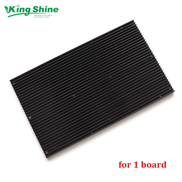 pre drilled QB288 quantum led lamp boards heat sink for 1 3 samsung  lm301B lm301H board