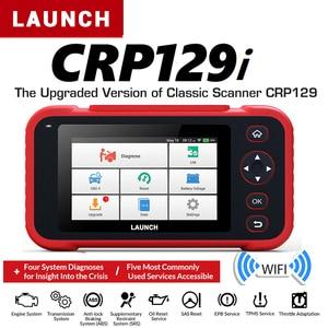 Image 1 - 발사 CRP129i OBD2 자동 스캐너 Automotivo OBD2 엔진 부호 독자 SAS 에어백 SRS 기름 리셋 Creader obd 발사 OBD 자유로운 갱신
