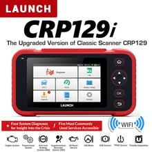 Lançamento crp129i obd2 scanner automático automotivo obd2 motor leitor de código sas airbag srs óleo redefinir creader obd lançamento obd atualização gratuita