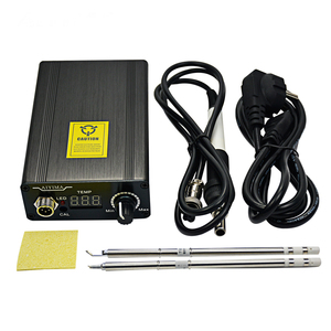 Image 5 - 110V 220V T12 Digital Soldering Iron Station Temperature Controller EU Plug+T12 Handle+T12 BCM2 and T12 K Tips