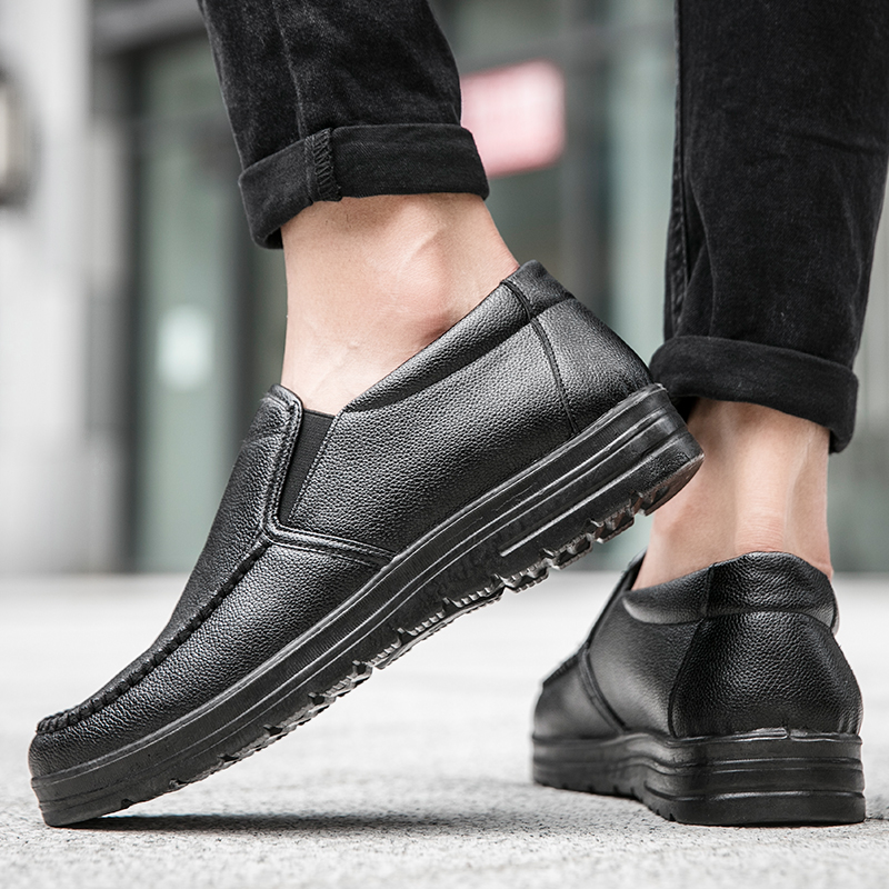 Men Casual Shoes Loafers Sneakers 2021 New Fashion Handmade Retro Leisure Loafers Shoes Zapatos Casuales Hombres Men Shoes 5